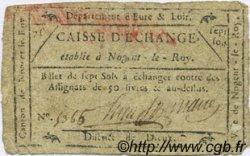 7 Sols FRANCE régionalisme et divers Nogent Le Roy 1792 Kc.28.096var TB