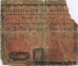 5 Sous FRANCE régionalisme et divers Montech 1792 Kc.31.100 AB