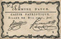 10 Sols FRANCE régionalisme et divers AUCH 1792 Kc.32.004 SUP