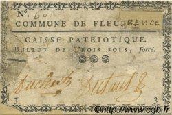 3 Sols FRANCE régionalisme et divers Fleurance 1792 Kc.32.039v B