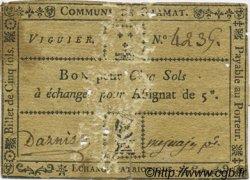 5 Sols FRANCE régionalisme et divers Gramat 1792 Kc.46.061 TB