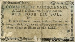 10 Sols FRANCE régionalisme et divers Valenciennes 1792 Kc.59.115 TB