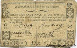 10 Sous FRANCE régionalisme et divers Pont Du Chateau 1792 Kc.63.116 TB
