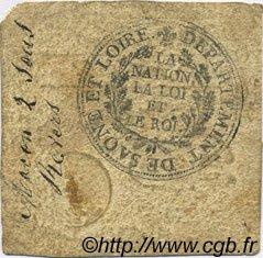 2 Sous FRANCE régionalisme et divers Macon 1792 Kc.71.038b TTB