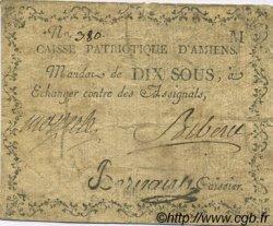 10 Sous FRANCE régionalisme et divers AMIENS 1792 Kc.80.010e TB