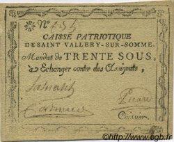 30 Sous FRANCE régionalisme et divers SAINT VALLERY SUR SOMME 1792 Kc.80.108b TTB