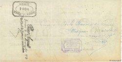 8133,20 Francs FRANCE régionalisme et divers DINAN 1931 DOC.Chèque TTB