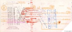 53,25 Francs FRANCE régionalisme et divers Paris 1963 DOC.Chèque TB