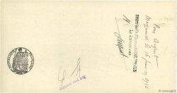 50000 Francs FRANCE régionalisme et divers MAZAMET 1931 DOC.Chèque SUP