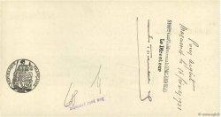 30000 Francs FRANCE régionalisme et divers MAZAMET 1931 DOC.Chèque SUP