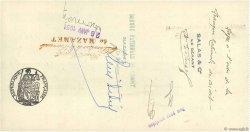 198,55 Francs FRANCE régionalisme et divers Mazamet 1931 DOC.Chèque SUP