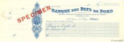 Francs FRANCE régionalisme et divers Paris 1911 DOC.Chèque SUP