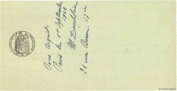 4000 Francs FRANCE régionalisme et divers Paris 1942 DOC.Chèque TTB