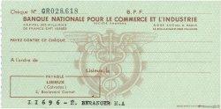 Francs FRANCE régionalisme et divers LISIEUX 1943 DOC.Chèque SPL
