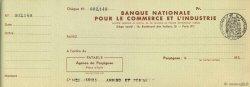 Francs FRANCE régionalisme et divers Perpignan 1936 DOC.Chèque TTB