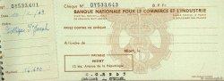 Francs FRANCE régionalisme et divers NIORT 1949 DOC.Chèque TTB