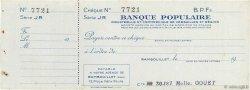 Francs FRANCE régionalisme et divers Rambouillet 1943 DOC.Chèque SUP