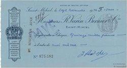 15000 Francs FRANCE régionalisme et divers SAINT-MIHIEL 1946 DOC.Chèque TTB