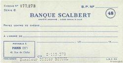 Francs FRANCE régionalisme et divers LILLE 1960 DOC.Chèque SUP