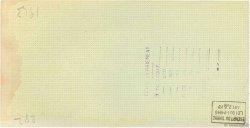 Francs FRANCE régionalisme et divers BORDEAUX 1943 DOC.Chèque TTB
