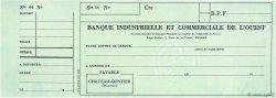 Francs FRANCE régionalisme et divers Chateau-Gontier 1949 DOC.Chèque SPL