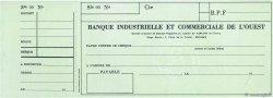 Francs FRANCE régionalisme et divers Rennes 1949 DOC.Chèque SPL