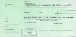 Francs FRANCE régionalisme et divers LAVAL 1949 DOC.Chèque SUP