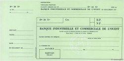 Francs FRANCE régionalisme et divers SAINT-LO 1960 DOC.Chèque SPL
