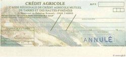 Francs FRANCE régionalisme et divers Tarbes 1979 DOC.Chèque SPL