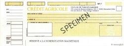 Francs FRANCE régionalisme et divers Montauban 1985 DOC.Chèque SPL