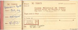 Francs FRANCE régionalisme et divers Arles 1967 DOC.Chèque TTB