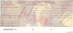 Francs FRANCE régionalisme et divers REIMS 1979 DOC.Chèque SPL