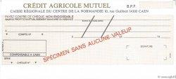 Francs FRANCE régionalisme et divers Caen 1979 DOC.Chèque SPL