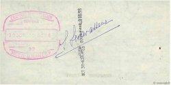 4018,98 Francs FRANCE régionalisme et divers PARIS 1963 DOC.Chèque SUP