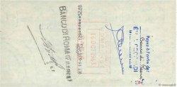 52 Francs FRANCE régionalisme et divers PARIS 1965 DOC.Chèque SUP