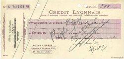 500 Francs FRANCE régionalisme et divers Paris 1941 DOC.Chèque SUP