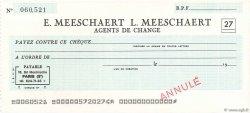 Francs FRANCE régionalisme et divers Paris 1965 DOC.Chèque SPL