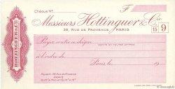 Francs FRANCE régionalisme et divers Paris 1943 DOC.Chèque SPL