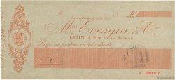 Francs FRANCE régionalisme et divers Lyon 1871 DOC.Chèque SUP
