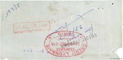 36427 Francs FRANCE régionalisme et divers PARIS 1957 DOC.Chèque TB