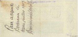 102000 Francs FRANCE régionalisme et divers BORDEAUX 1907 DOC.Chèque SUP
