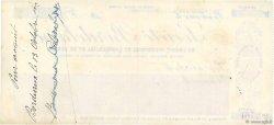 20000 Francs FRANCE régionalisme et divers Bordeaux 1913 DOC.Chèque SUP