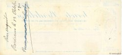 4000 Francs FRANCE régionalisme et divers Bordeaux 1911 DOC.Chèque SUP