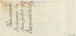 2000 Francs FRANCE régionalisme et divers Bordeaux 1907 DOC.Chèque SUP