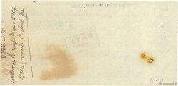 10000 Francs FRANCE régionalisme et divers BORDEAUX 1907 DOC.Chèque TTB