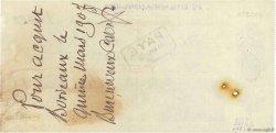 12000 Francs FRANCE régionalisme et divers BORDEAUX 1907 DOC.Chèque TTB