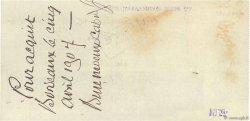 3000 Francs FRANCE régionalisme et divers Bordeaux 1907 DOC.Chèque TTB