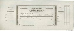 Francs FRANCE régionalisme et divers Paris 1865 DOC.Chèque SUP