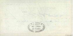 300000 Francs FRANCE régionalisme et divers ISIGNY-SUR-MER 1956 DOC.Chèque TTB