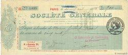500 Francs FRANCE régionalisme et divers Paris 1926 DOC.Chèque TTB